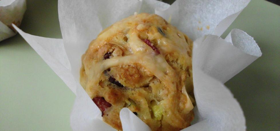 Muffinki z cukinią i boczkiem (autor: borgia)