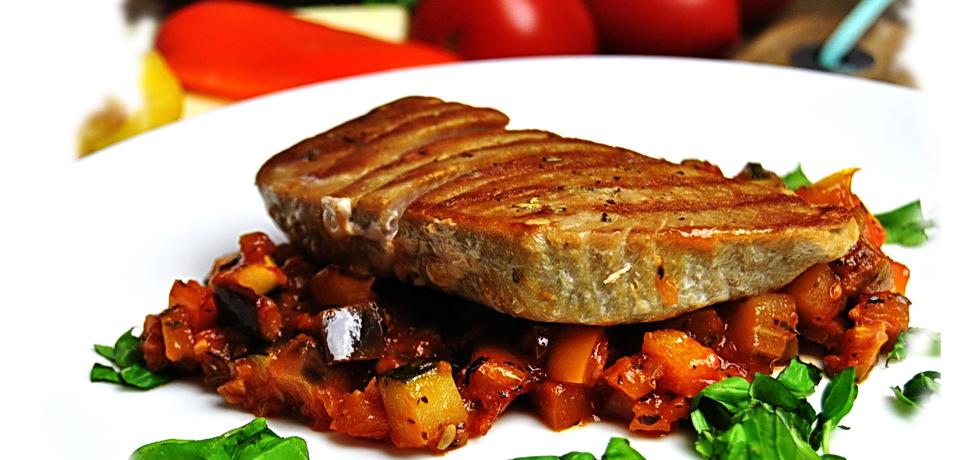 Steki z tuńczyka na ratatuj (autor: rng-kitchen)