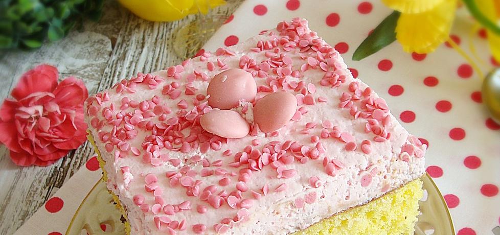 Ciasto czekoladowo-truskawkowe (autor: 2milutka)