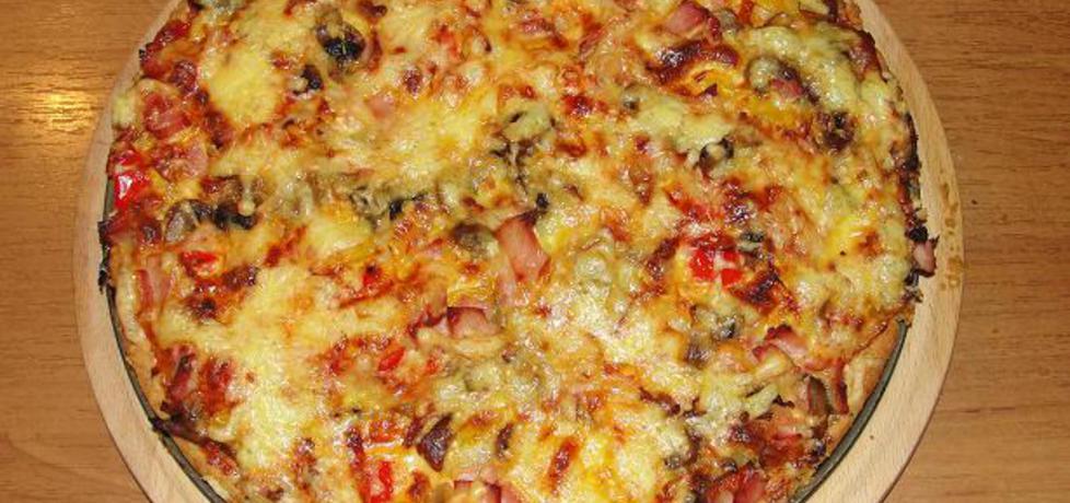 Pizza na kruchym cieście (autor: alaaa)