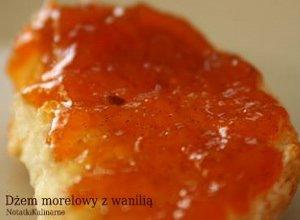 Dżem morelowy z wanilią  prosty przepis i składniki