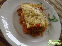 Przepis  lasagne z dużą ilością warzyw wg triss przepis