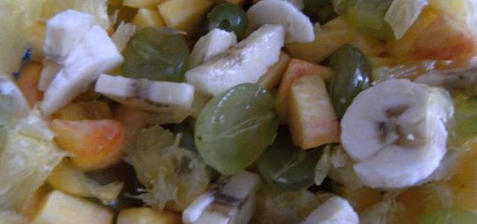Sałatka owocowa na deser (autor: djkatee)
