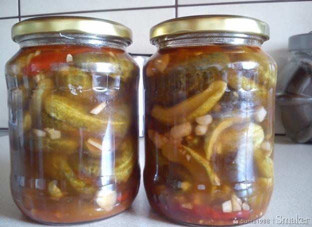 Ogórki w chili z papryczkami piri-piri
