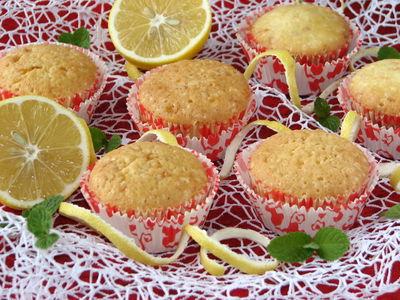 Muffinki z białek cytrynowo