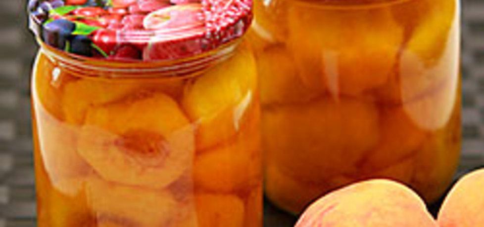 Brzoskwinie w syropie na zimę (autor: kulinarny
