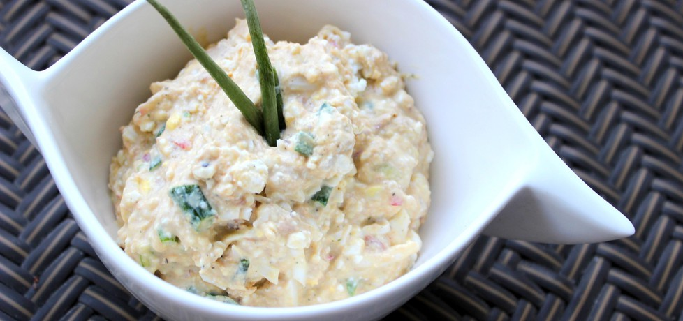Pasta z tuńczyka, twarogu i jajek (autor: pyszota)
