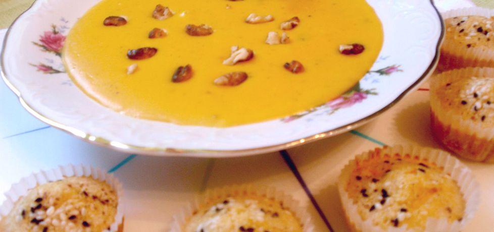 Zupa z dyni z serkiem topionym (autor: gosia56)