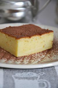 Magiczne ciasto ( magic custard cake )