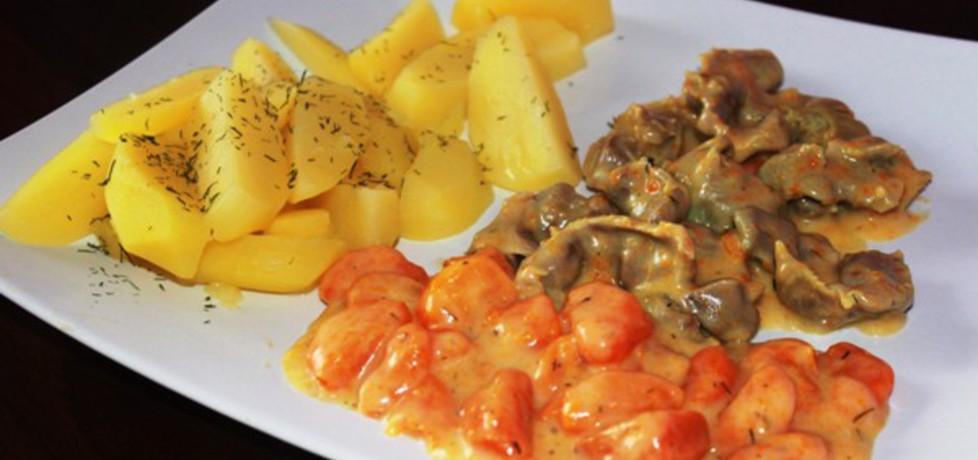 Gulasz z żołądków w sosie marchewkowym (autor: smakolykijoanny ...