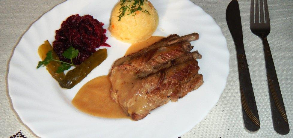 Tradycyjne żeberka wieprzowe (autor: renatazet)
