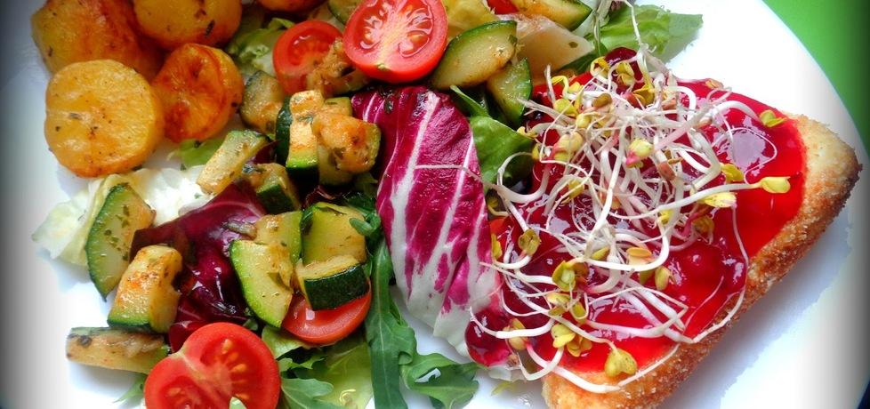 Szybka sałatka obiadowa (autor: jejkuchnia)