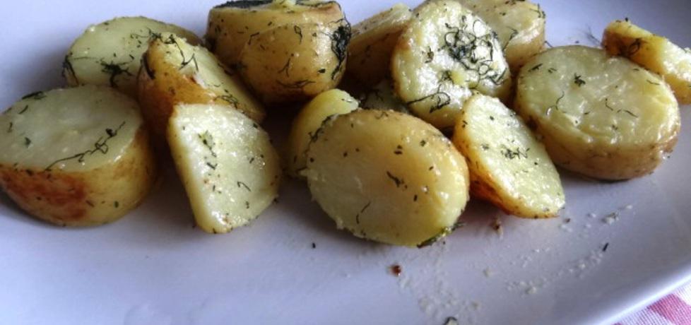 Młode ziemniaki zapiekane w maśle koperkowo czosnkowym (autor ...