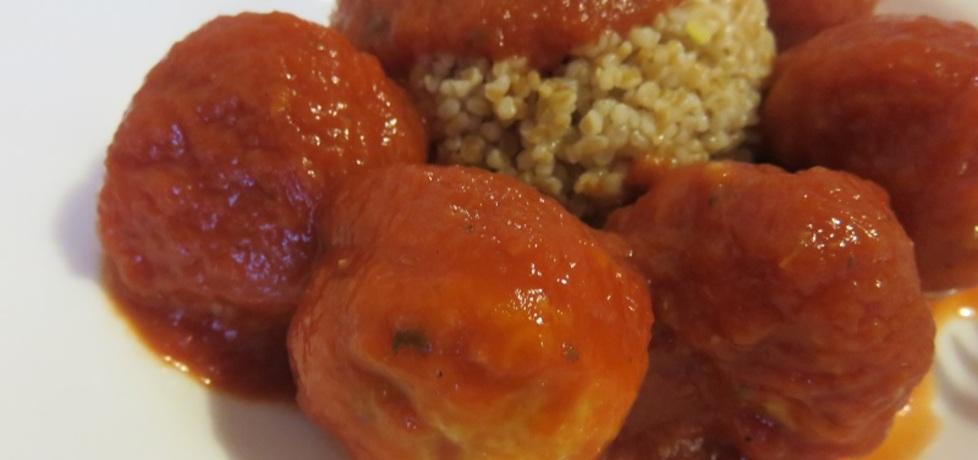 Klopsiki na parze w sosie pomidorowym (autor: magdow ...