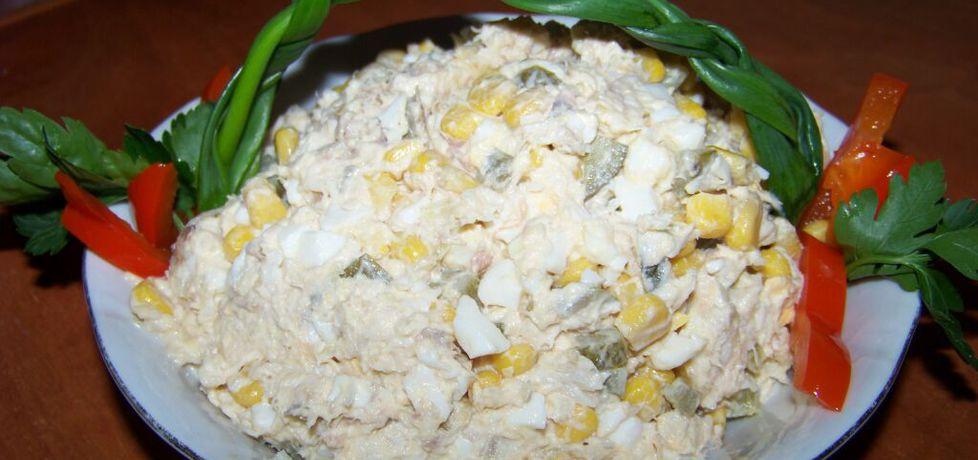 Sałatka z wędzoną makrelą według agi (autor: agas10 ...