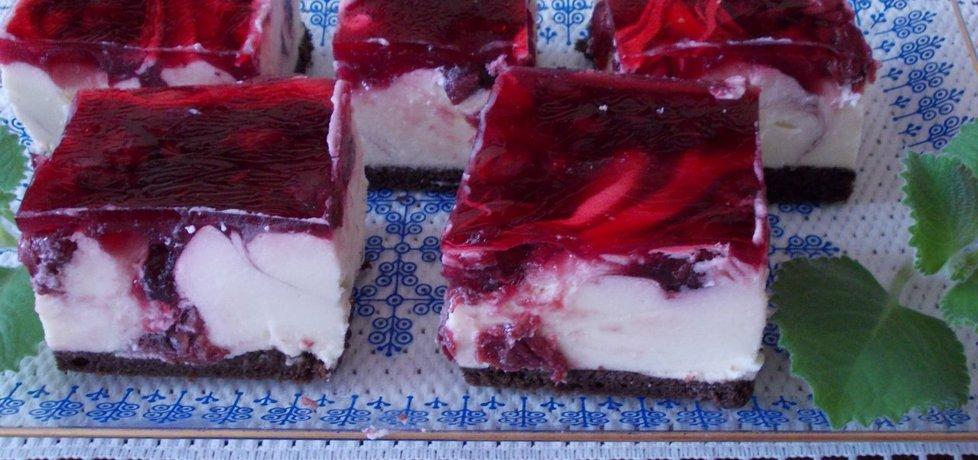 Ciasto serowo  wiśniowe. (autor: bernadeta1)