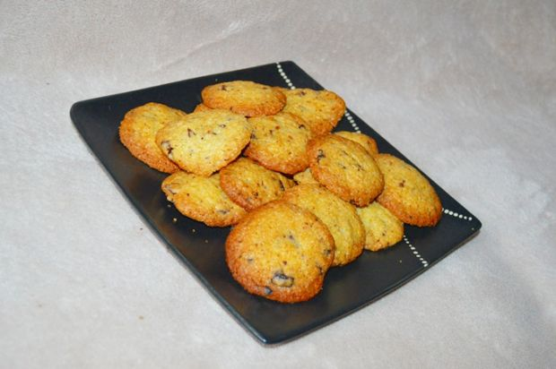Przepis  ciasteczka z kawałkami czekolady przepis