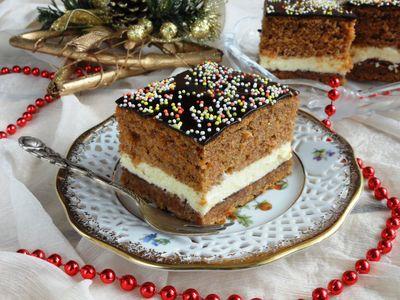 Ciasto marchewkowe o smaku piernika