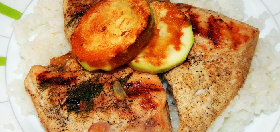 Pierś kurczaka grillowana z cukinią (autor: habibi)