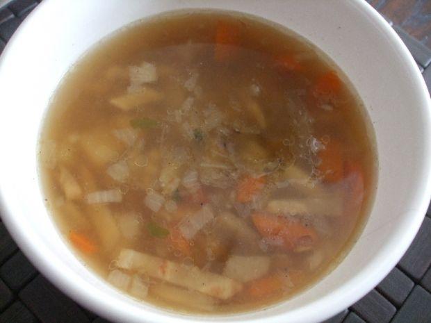 Przepis  zupa z boczkiem i warzywami przepis