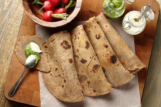 Tortilla z mąki gryczanej