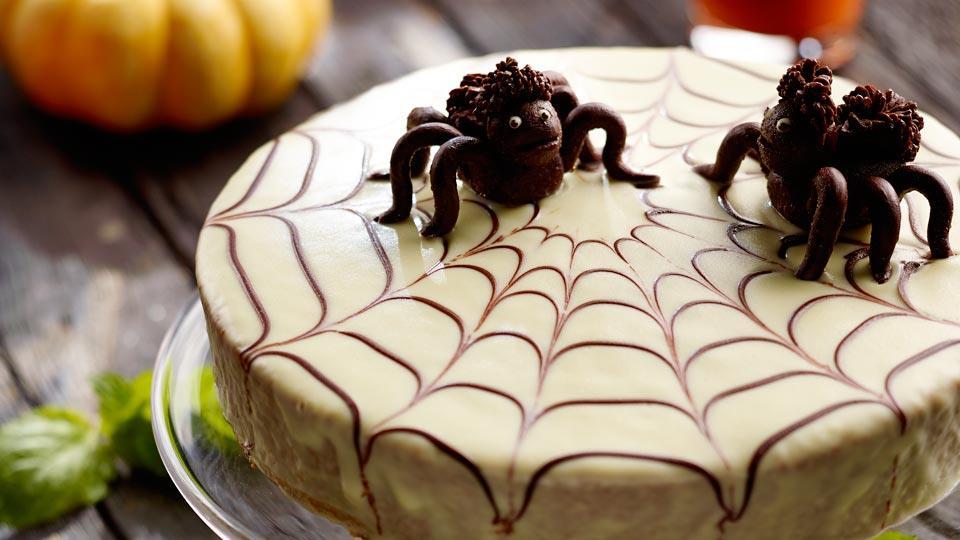 Przepis na ciasto z dyni i marchwi – pajęczynka na halloween ...
