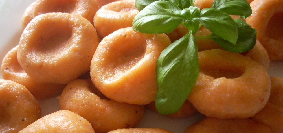 Kluski ziemniaczane, pomidorowo