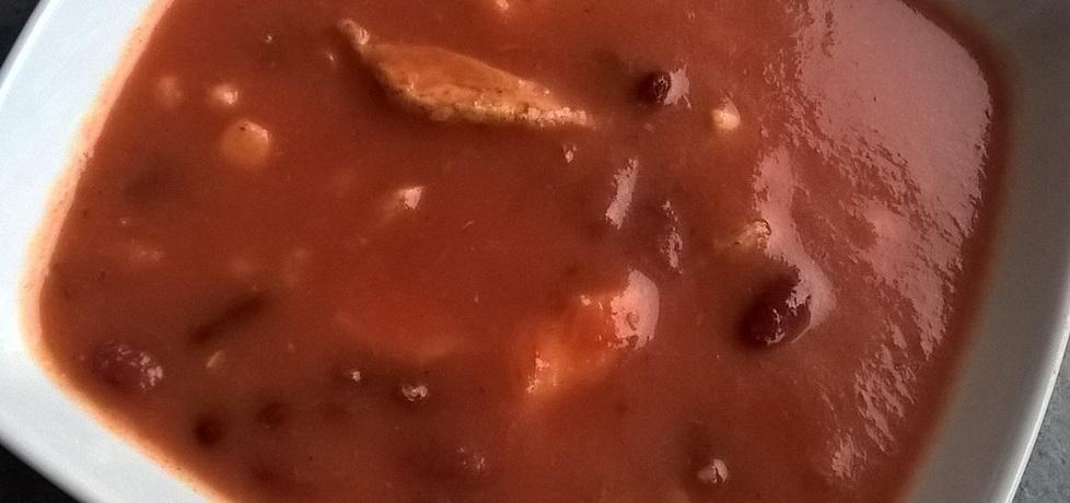 Zupa meksykańska z kurczakiem (autor: ania321)