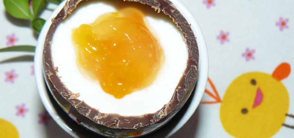 Czekoladowe jajka z nadzieniem jogurtowym (autor: niepieprz.pl ...
