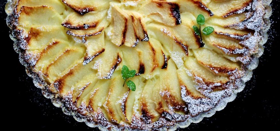 Tarta serowa z jabłkami na cieście francuskim (autor ...