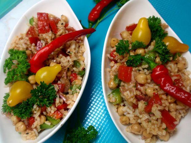 Przepis  sałatka ryżowa na szybko przepis