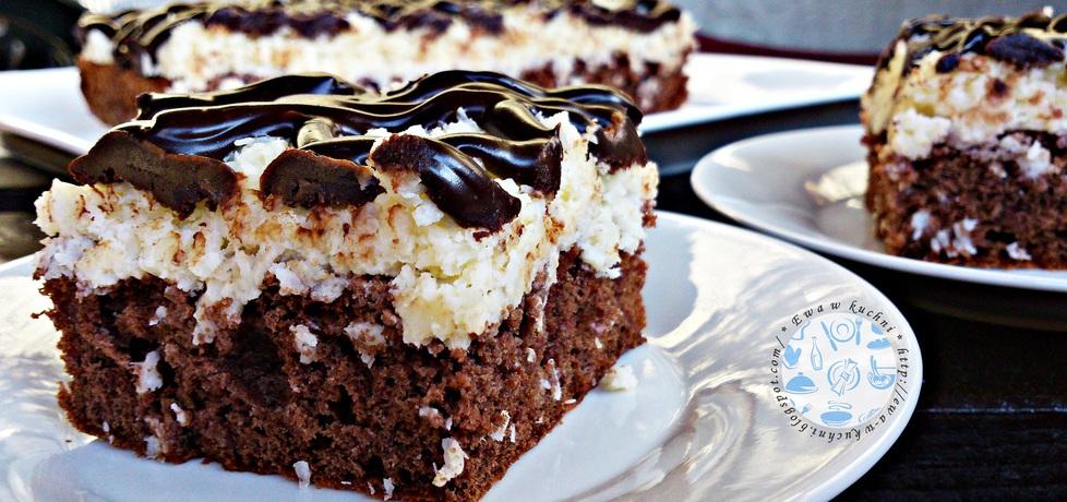 Ciasto czekoladowo  kokosowe (autor: zewa)