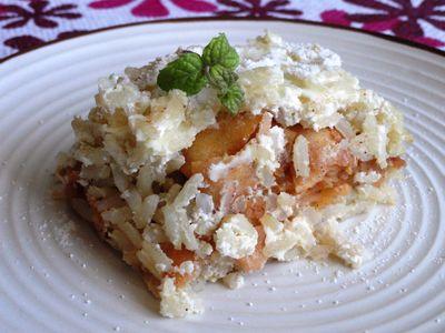 Pełnoziarnisty ryż z jabłkami