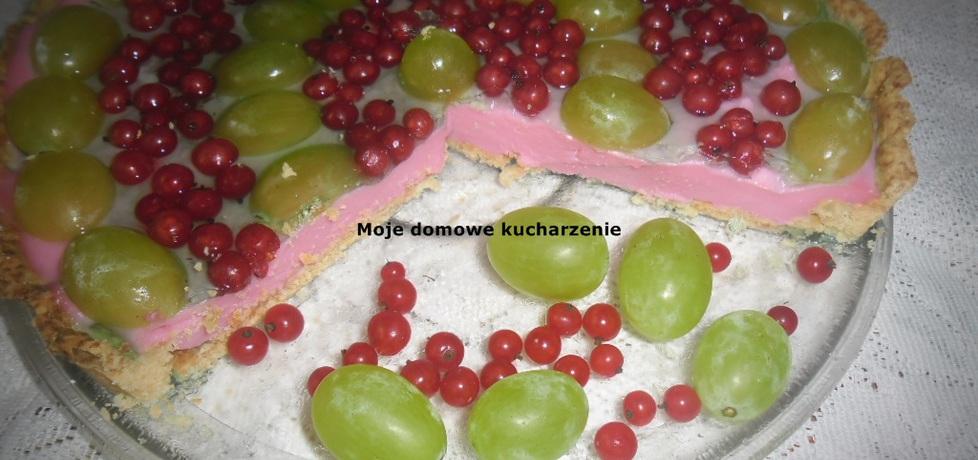 Tarta z budyniem i owocami (autor: bozena6)
