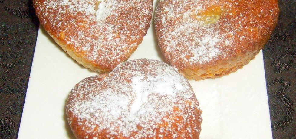 Muffinkowe serduszka z pomarańczą... (autor: w-mojej