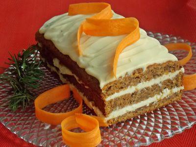 Ciasto marchewkowe z karmelowym serkiem
