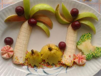 Banalny w wykonaniu bananowy gaj dla smyka