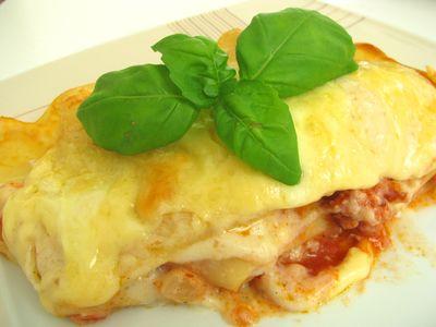 Lasagne al forno, czyli lasagne z piekarnika z sosem bolognese i ...