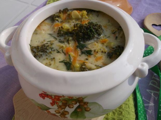 Przepis  pyszna zupa brokułowa przepis