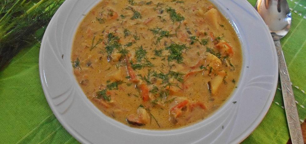 Serowa zupa ogórkowo-porowa (autor: beatris)