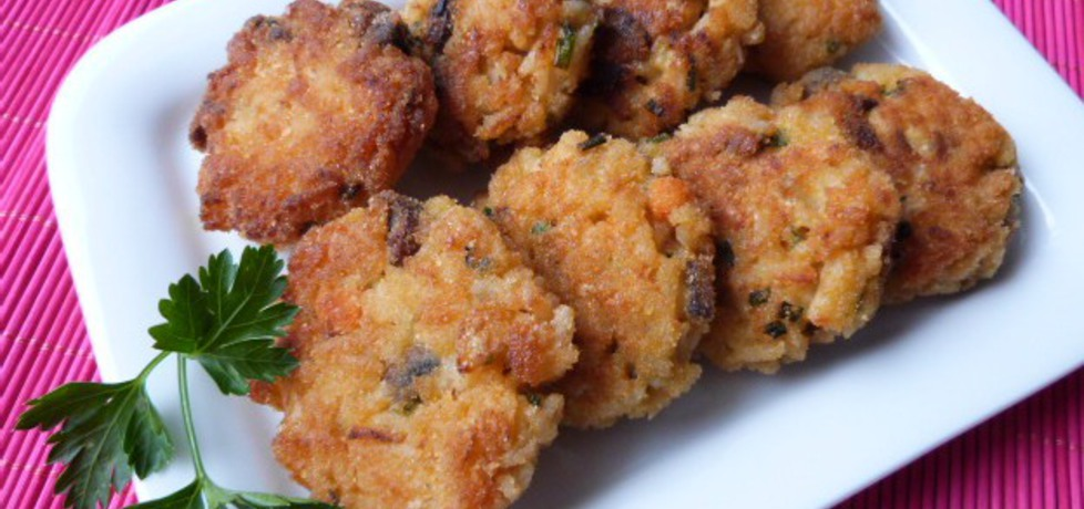 Pikantne kotleciki z ryżu i pieczarek (autor: renatazet ...