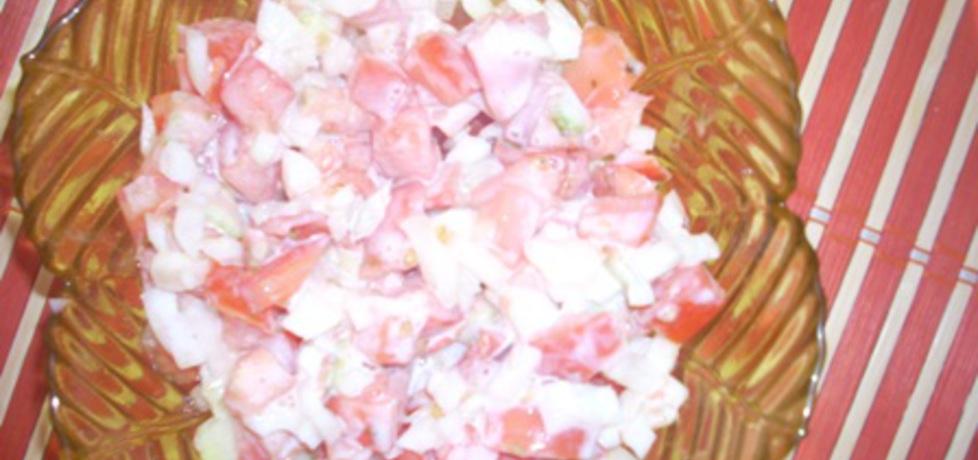 Pomidory z jogurtem (autor: botwinka)