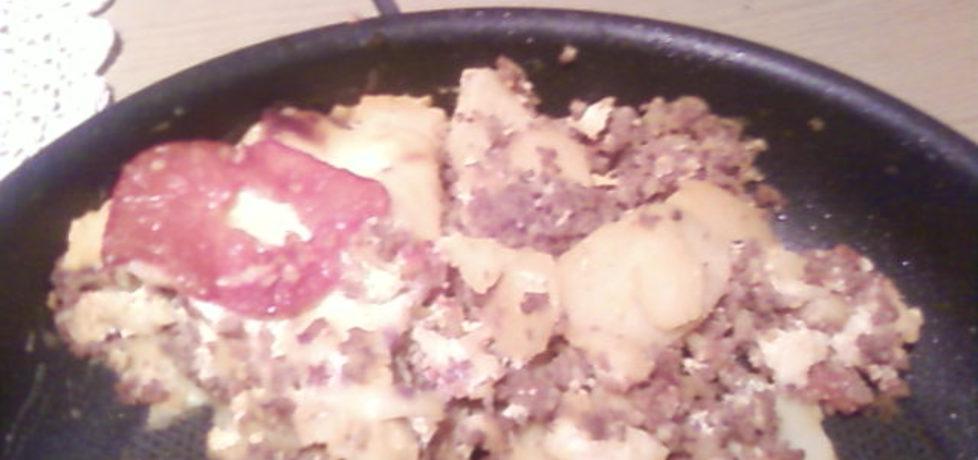 Zapiekanka z ziemniaków i mięsa mielonego. (autor: iwonaka ...