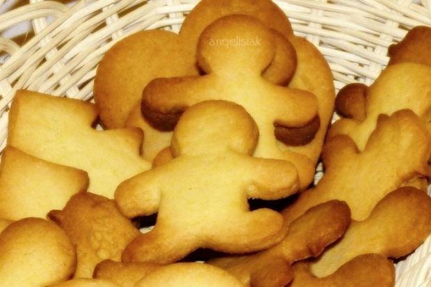 Przepis  kruche ciasteczka maślane przepis