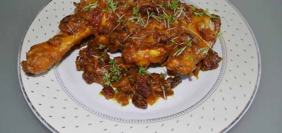 Kurczak z rodzynkami i chilli (autor: megg)
