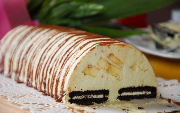 Przepis  deser pistacjowy z bananami przepis