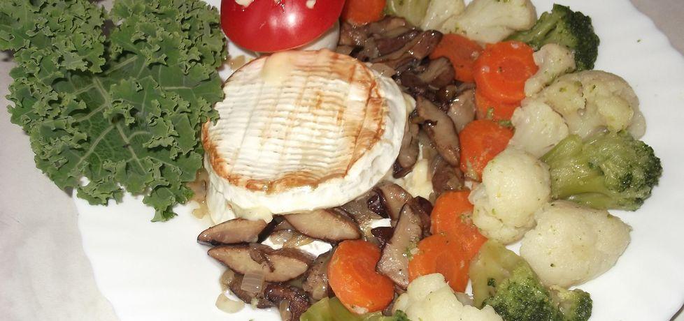 Podgrzybki nadziewane serem camembert (autor: waclaw ...