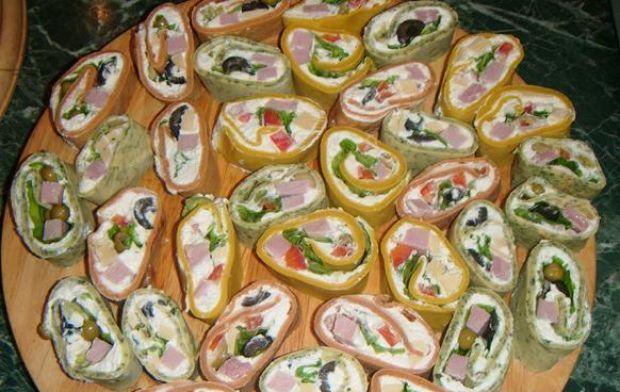 Przepis  naleśnikowe a'la sushi przepis