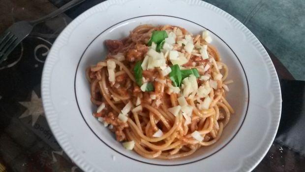 Przepis  spaghetti z mielonym indykiem przepis