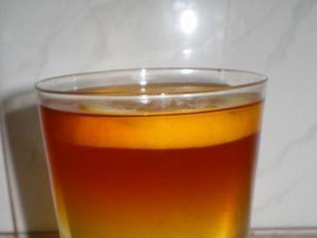Przepis  herbata tęczowa przepis